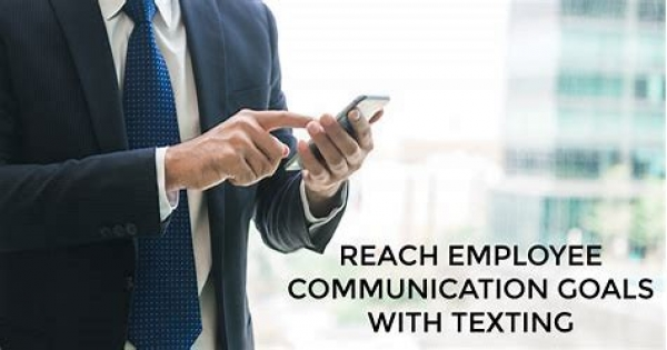 Create Effortless Employee Communication By Using SMS
